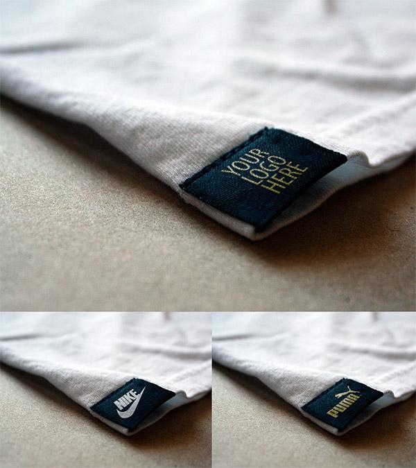 shirt tag mockup