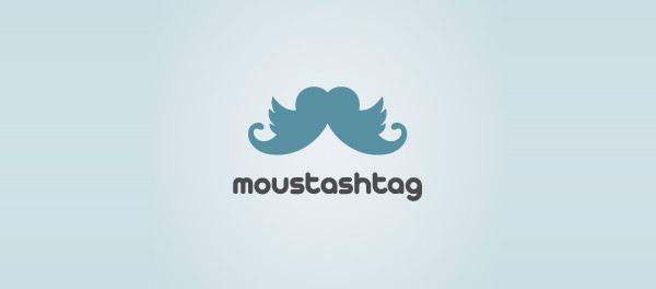 twitter mustache logo
