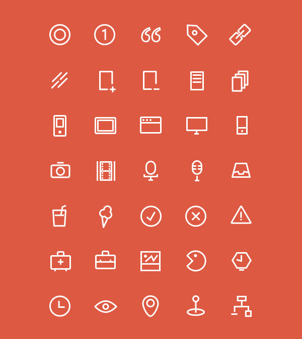 vector icons freebie
