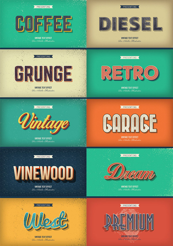 beautiful retro styles