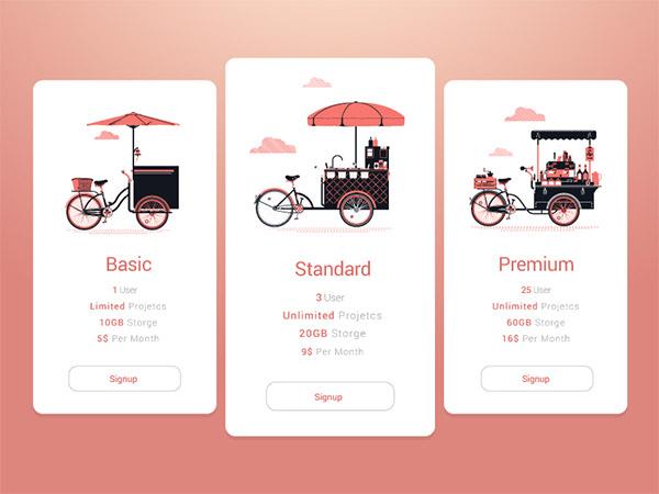 pink gradient design