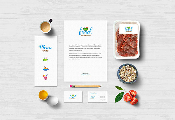 psd template food
