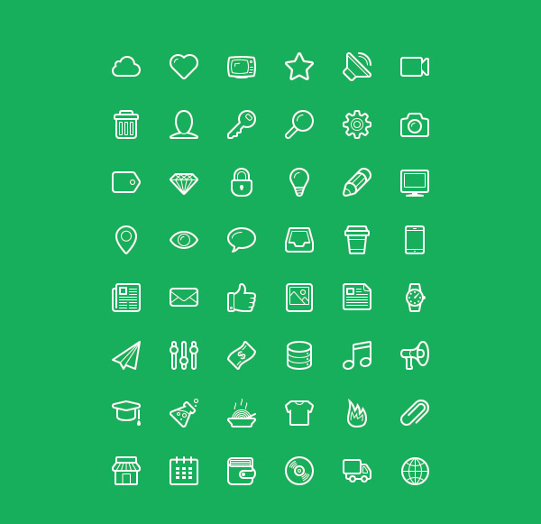 beautiful icon sets