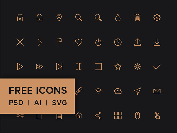 Download 33 Best Collections Of Free Icon Fonts | Naldz Graphics
