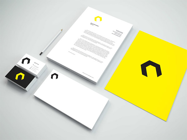 photoshop identity template