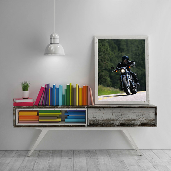 rustic wooden frames