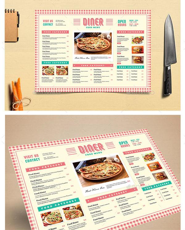 picnic theme menu