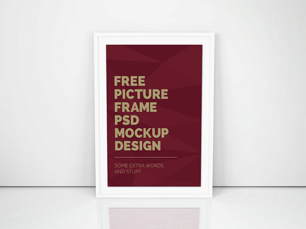 psd frame template