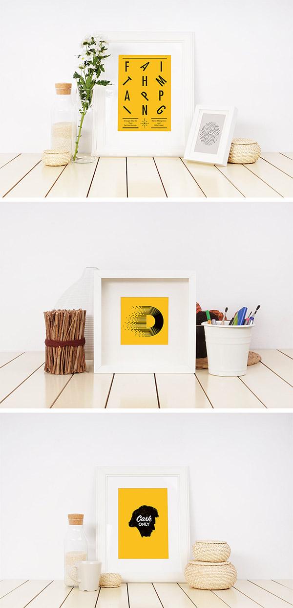 frame mockup design