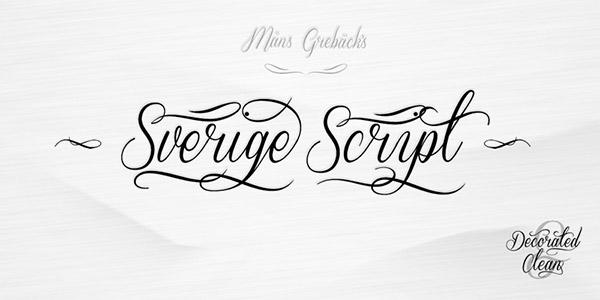 script feminine font