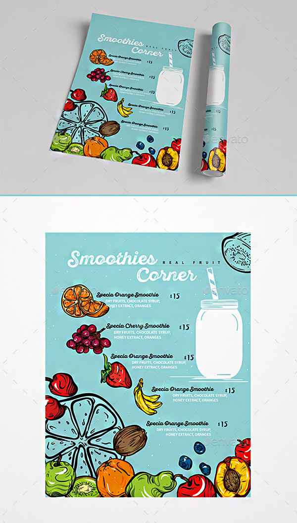 graphic illustration brochure