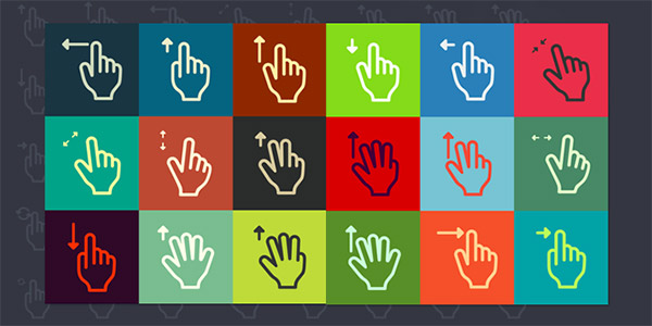 outlined hands icon