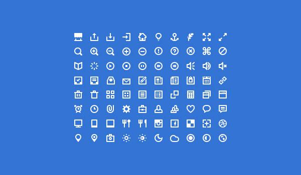minimal icon sets