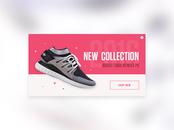 pink shoes ecommerce