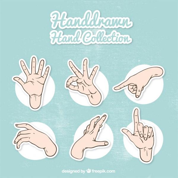 hand sketches vector