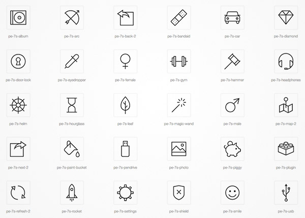 icon font freebies