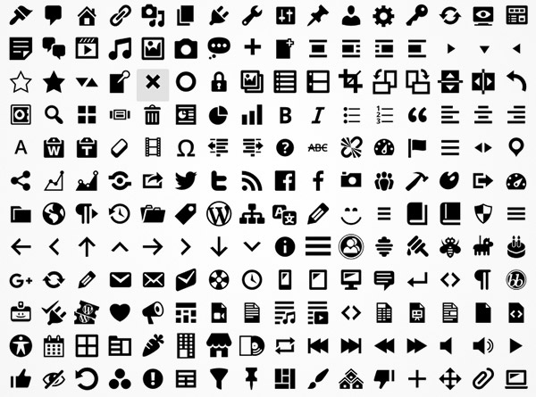 font icons freebies