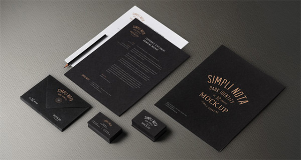 stationery mockup photoshop