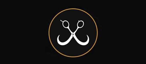 scissor barbershop branding