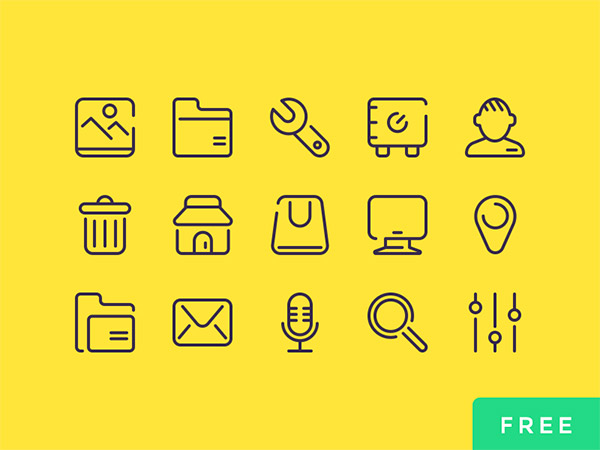 user interface icons