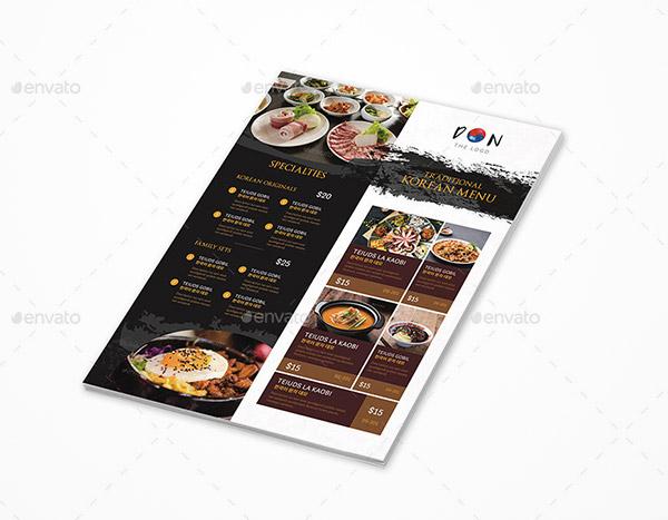 Premium Food Menu Templates To Download Naldz Graphics - Menu brochure template