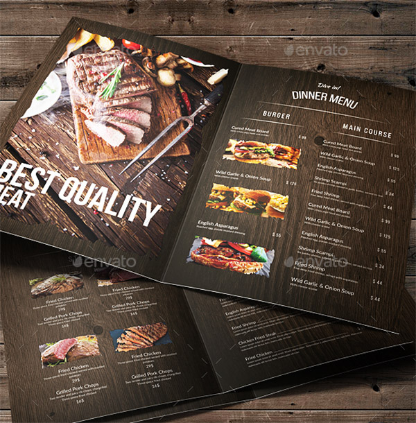 wood accent brochure