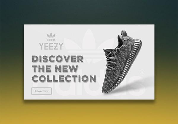 shoe ecommerce UI