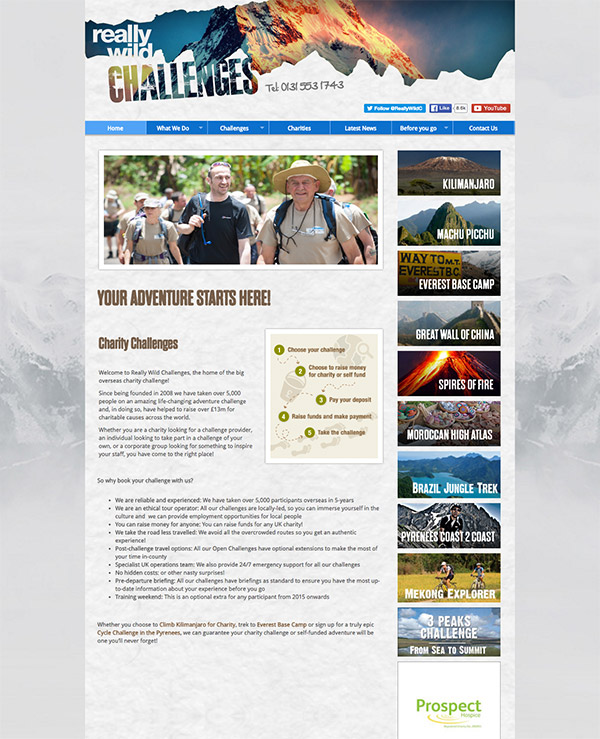 adventure travel websites