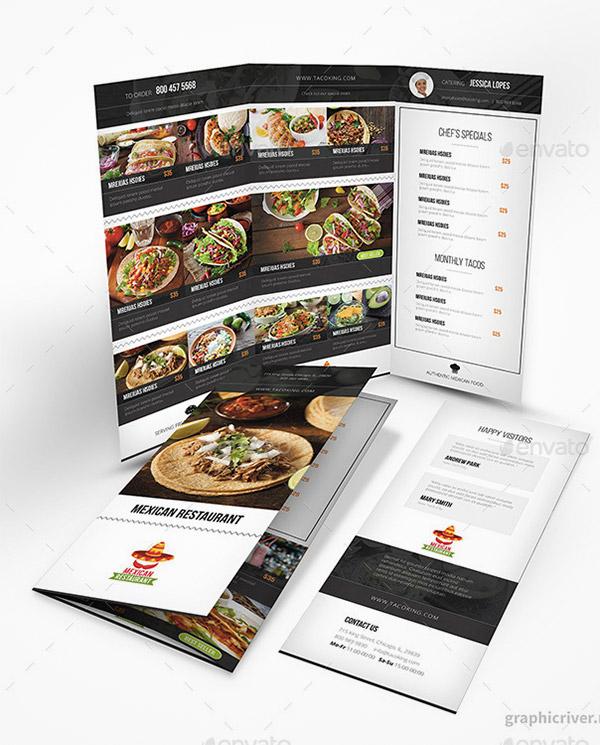 restaurant flyers