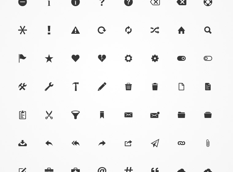 huge icon set