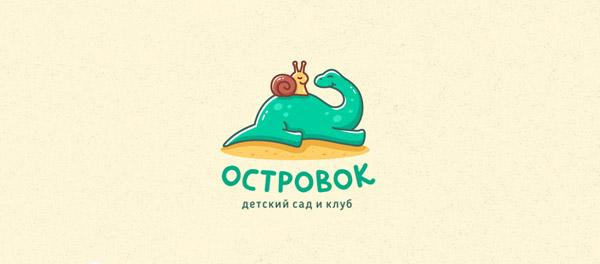 brachiosaurus design logos