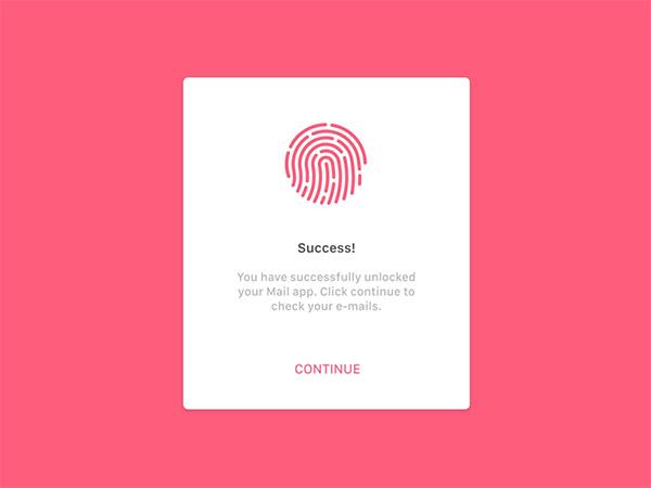 pink ui interface