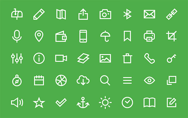 psd sharp icons