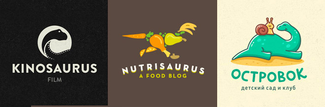 30 Exotic Examples Of Dinosaur Logo Designs