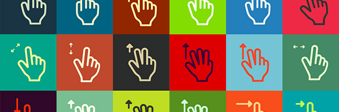 500+ Free Gesture Icons For Designers And Developers