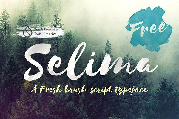 free watercolor font