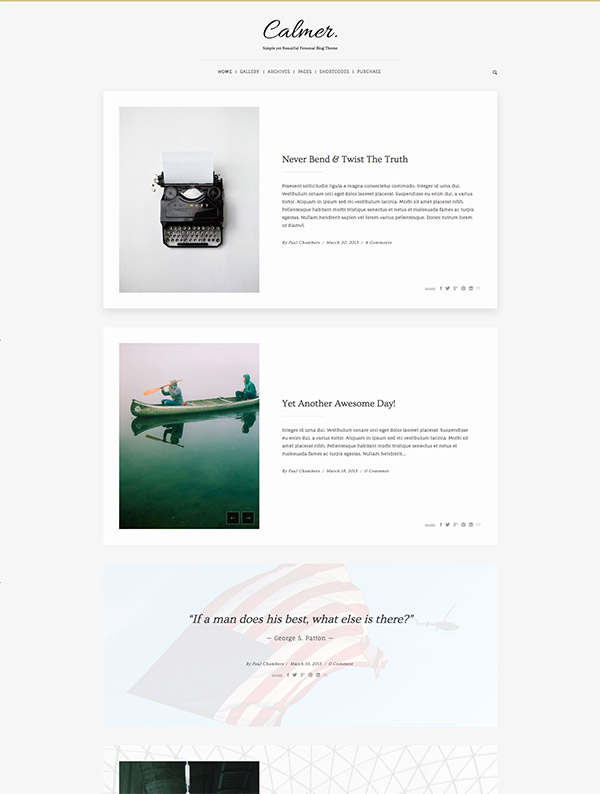 responsive layout themes