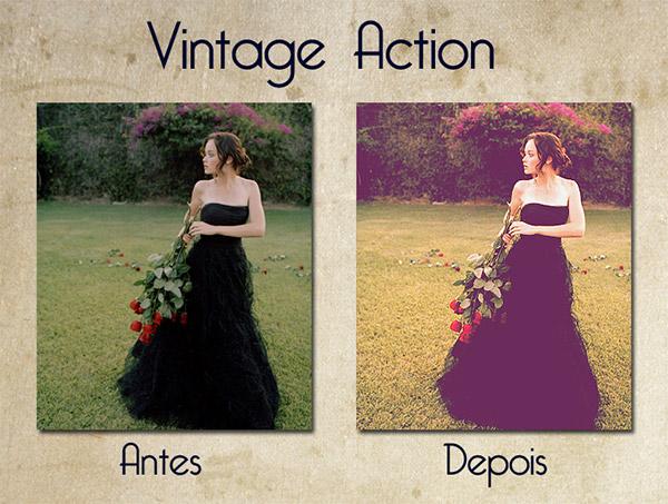vintage style retro