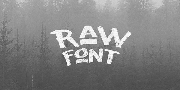 grunge font style