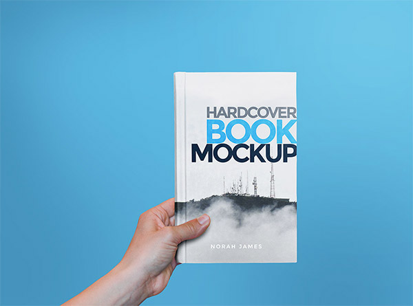 hand hardcover book