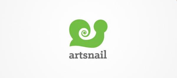 artsy snail design