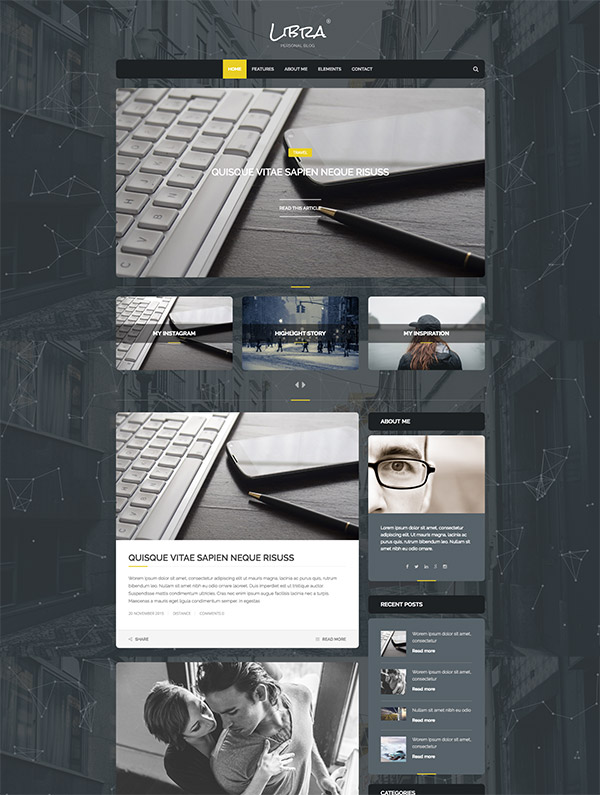 beautiful layout websites
