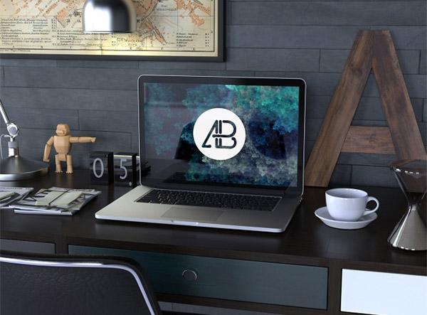 desk mockup designs