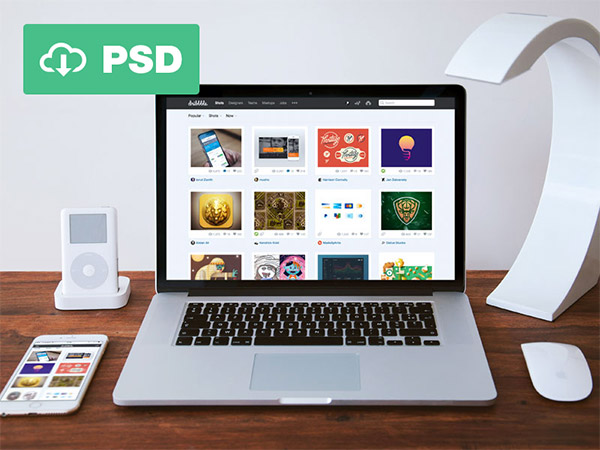 psd photoshop template