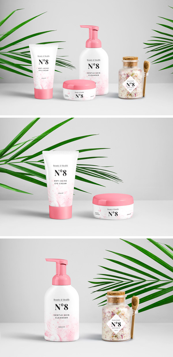 cosmetics products designs