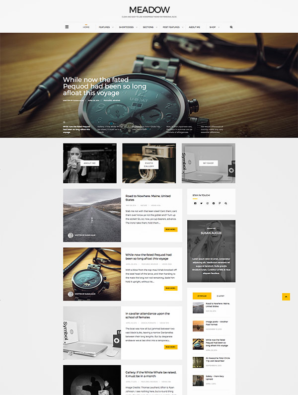 beautiful premium wordpress