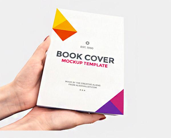 book mockups template
