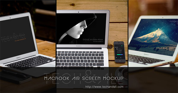 macbook air template