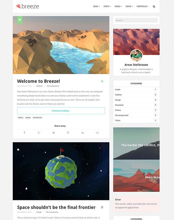 minimalist responsive layouts