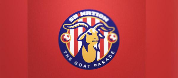 soccer goat mascot